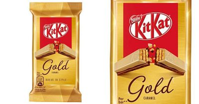 Nestlé's KitKat Launches New Gold Bar With White Chocolate And Caramel