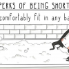 5-Foot-Tall Artist's 15 Illustrations Perfectly Depict What Being Short Is Like