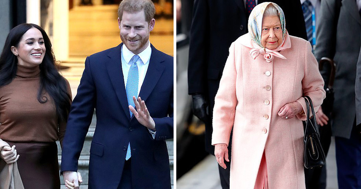 Prince Harry And Meghan Stun The Queen By Quitting Their Royal Duties