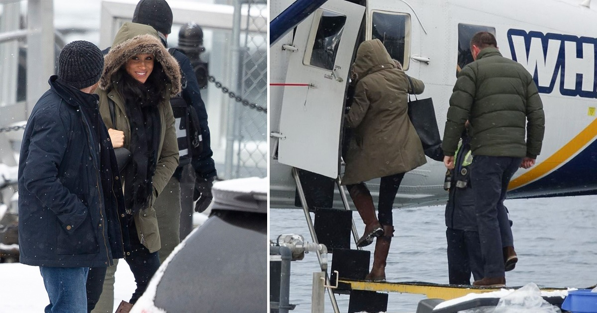 Smiling Meghan Markle Spotted For The First Time Since Megxit As She Visits Women's Shelter In Canada