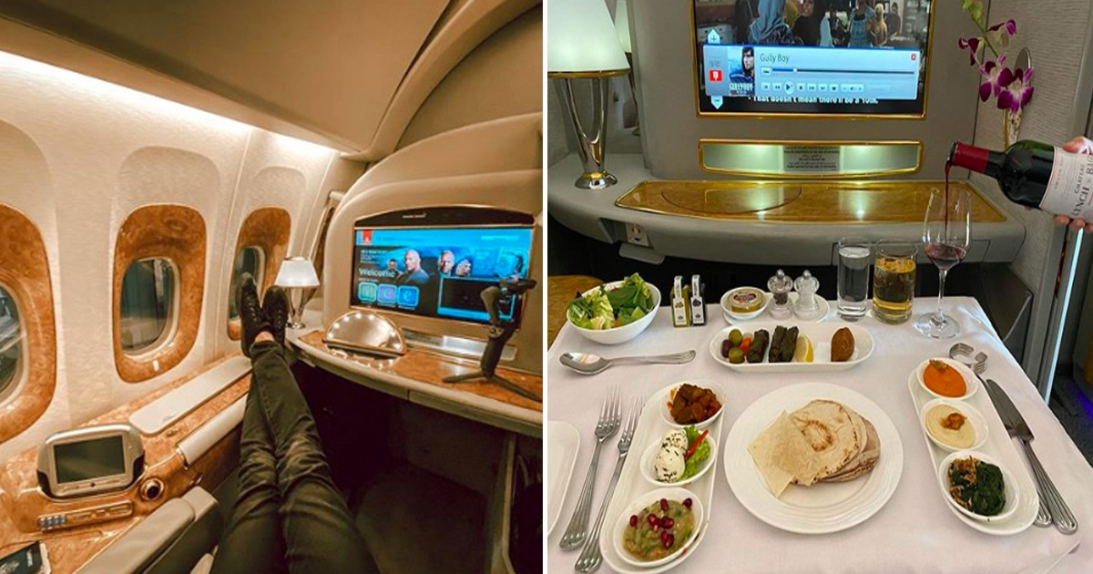 Take A Peek Inside 'World's Best Airline' With Showers And Privacy Pods