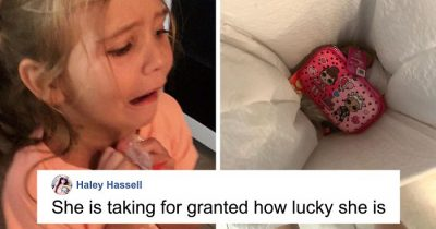 Mom Teaches 'Ungrateful' Daughter A lesson After She Throws Pencil Case In The Trash