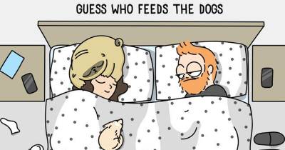 Artist's 25 Hilarious Comics Sums Up What It's Like Living With A Dog