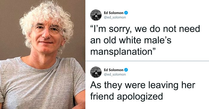 Women Told Man Not To Mansplain 'Men In Black' To Them, Turned Out He's The Writer Of Movie