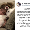Woman talks about less noticed type of depression and people are thanking her.