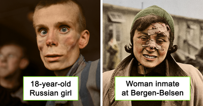 10 Colourised Pictures Depict The Horror Of The Holocaust