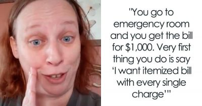 Woman Discovers A Genius Way To Reduce ER Bills By Itemizing Them And Everybody Says It Work!