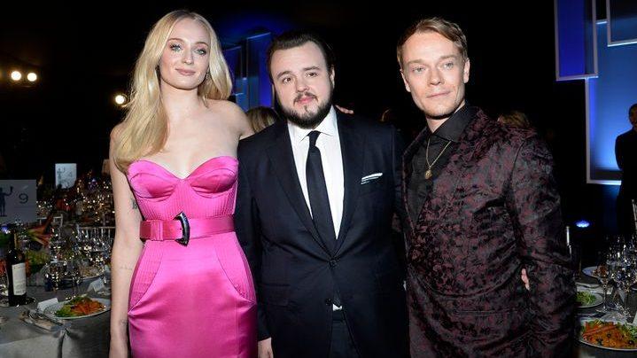Sophie Turner and Joe Jonas turns up as Barbie and Ken on annual SAG awards.