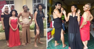 30 Hilarious Pictures Of Filipinos Dressed Up In Donated Clothes