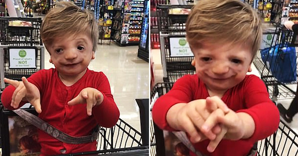 Adorable Moment Deaf Boy, 2, Signs 'I Love You' To His Mom For The First Time Ever