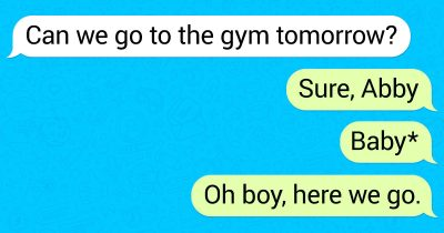 20 Hilarious Texts From Partners Who Didn't Check For Typos Before Sending