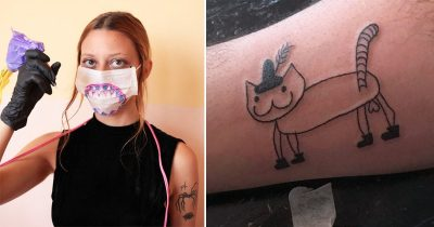 This Tattoo Artist Is So Bad At Drawing And That's Precisely Why People Choose Her
