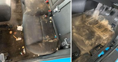 Parent Shamed For 'Dirty' Car That Took Professionals 7 Hours To Clean