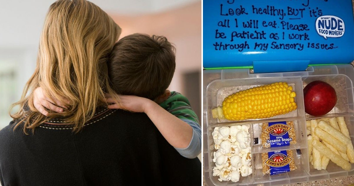 Mom Wrote Powerful Note To Son's Teacher Using The Lid Of An 'Unhealthy Lunchbox'
