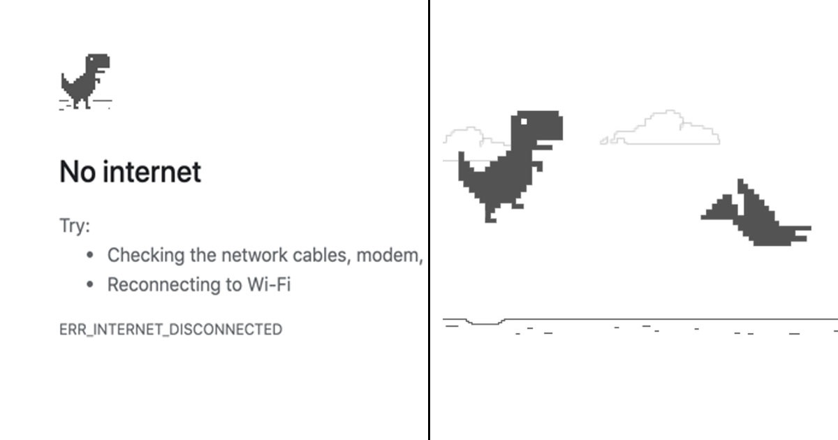 It's 2020 And People Didn't Know The No Internet Dinosaur Is A Addictive Game