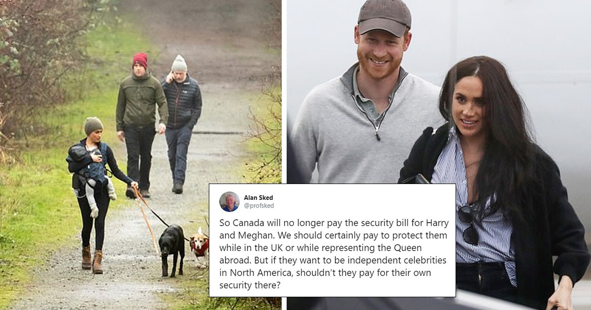 Anger Mounts Over Prince Harry And Meghan Markle's £20M Security Bill