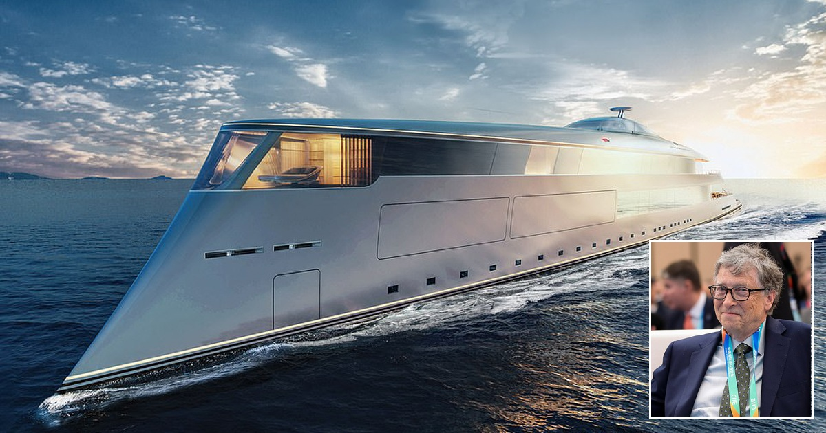Bill Gates Buys Huge $645M Superyacht Powered By Liquid Hydrogen