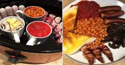 'Amazing' Amateur Chef Used A Slow Cooker To Make A Traditional Fry-Up In 9 Hours