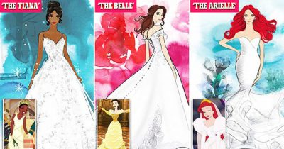 Disney Launches Fairytale Wedding Gowns Inspired By Its Iconic Princesses