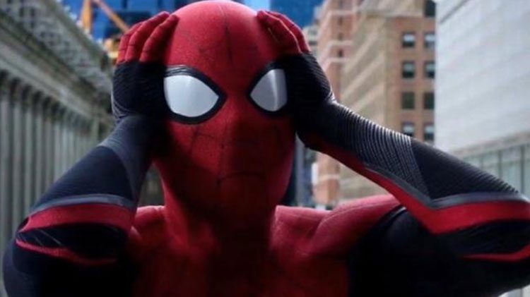 Spider-Man gone missing in 'Morbius' new reshoot leaked images.