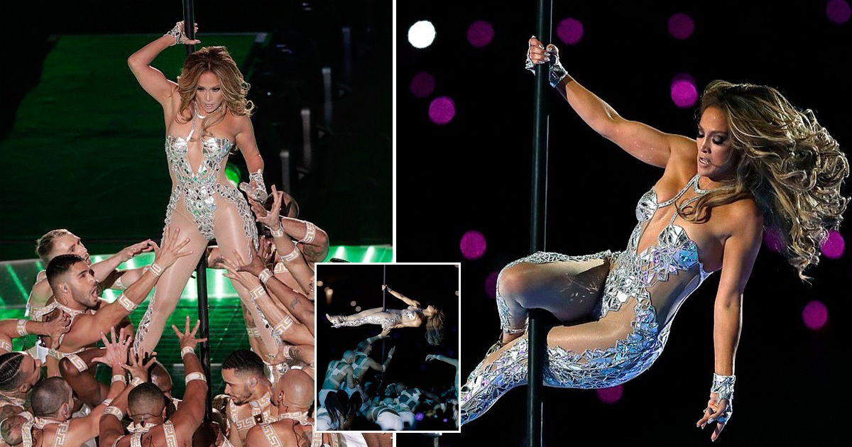 Jennifer Lopez Sets Super Bowl On Fire With Her Electrifying Performance On The Pole