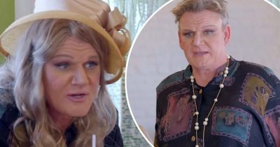 Gordon Ramsay Looks Unrecognizable As He Dresses As A Woman For US Telly Show