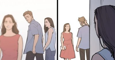 Artist's 'Distracted Boyfriend' Meme Gets An Unexpected Twist In This Hilarious Comic