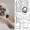 The 'Jason Momoa Coloring Book' Available And Supposedly It Can Ease Off Stress