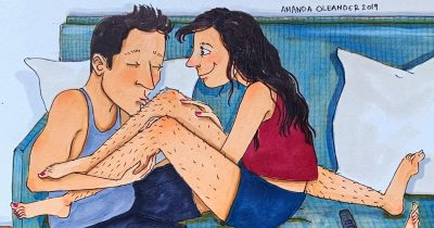 Artist's 17 Illustrations Depict What True Love Is All About