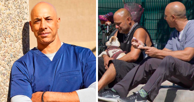 This Vet Walks Around California And Treats Homeless People's Pets For Free
