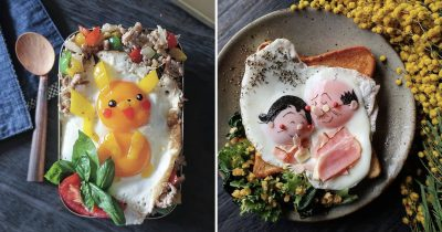 Japanese Mom Makes Amazingly Cute Meals Using Eggs