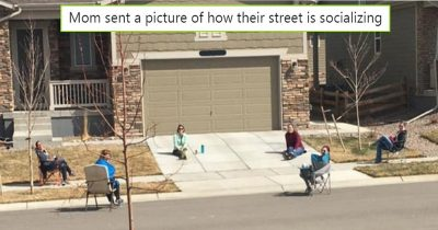 10 Photos Show How People Are Making The Best Of Social Distancing