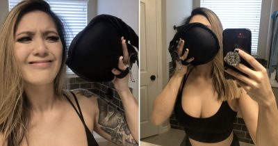 Women With Big Breasts Are Trolling The Video On Turning Bras Into Masks