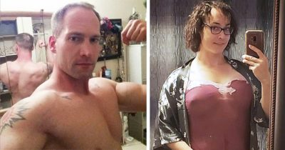 Bodybuilder, 36, Spent $110,000 To Transition From Male To Female