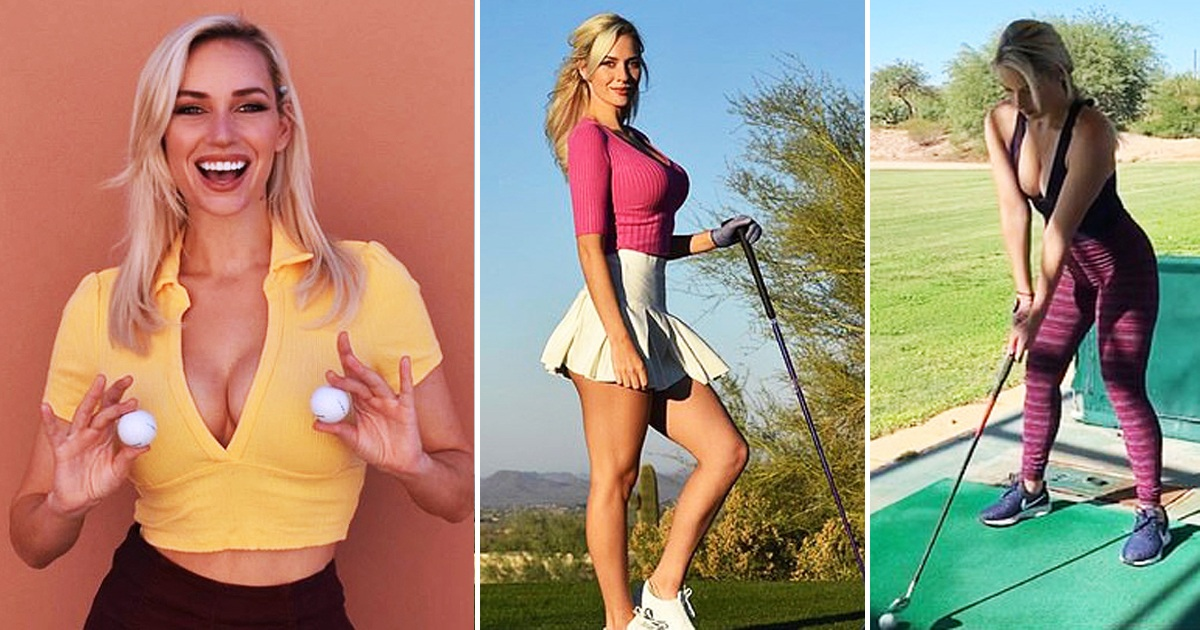 Golfer, 26, Reveals She's Accused Of 'Running The Sport' Because She Wears Low-Cut Tank Tops