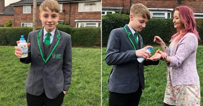Boy, 13, Is Sent Home From School For Selling Squirts Of Hand Sanitiser For 50p A Time