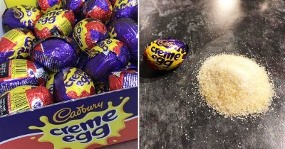 Chocolate Lovers 'Disgusted' After Realizing How Much Sugar Is Used In Cadbury's Crème Egg