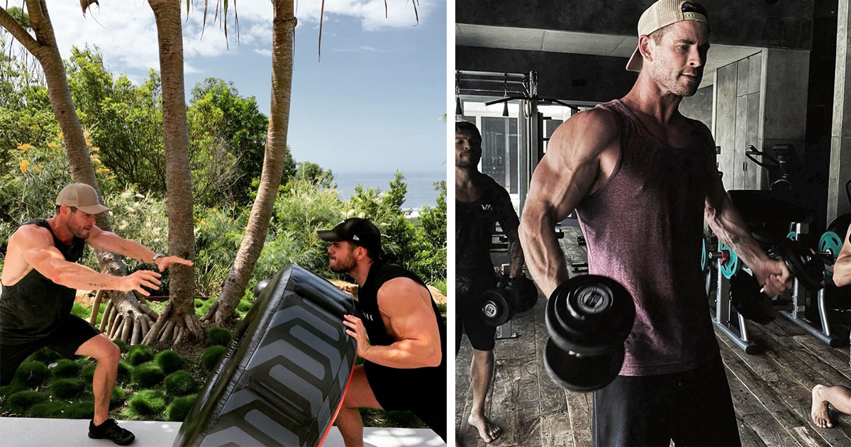 Chris Hemsworth Is Offering Free Online Workout Classes During Quarantine