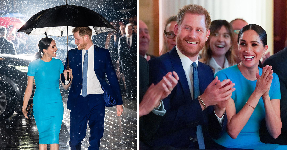 Harry And Meghan Made Their First Appearance In The UK After Declaring Megxit