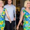 Katy Perry Flaunts Growing Baby Bump As She Goes Shopping At Luxury Baby Store