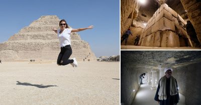 World's Oldest Pyramid In Egypt Opens For The First Time In 90 Years