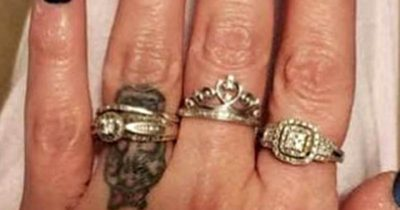 Bride-To-Be Shows Off Her Engagement Ring, But People Couldn't Stop Talking About Her Nails
