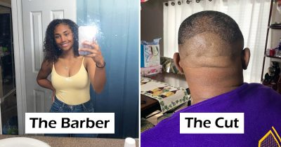 Girlfriends Are Cutting Their Boyfriends' Hair And It's Hilarious