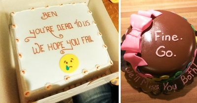 Hilarious Farewell Cakes Workers Got On Their Last Day At The Office