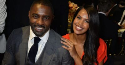 Idris Elba's wife positive with covid-19 and explains to Oprah why she didn't social distance from her husband.