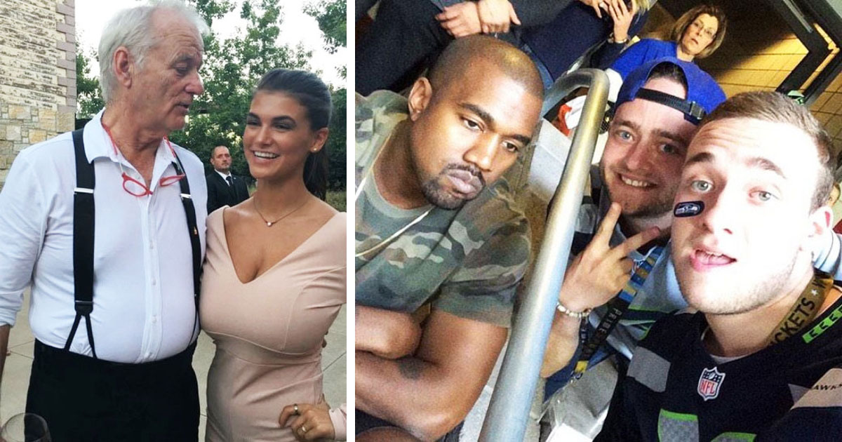 40 Most Hilarious Examples Of Celebrity Photobombs