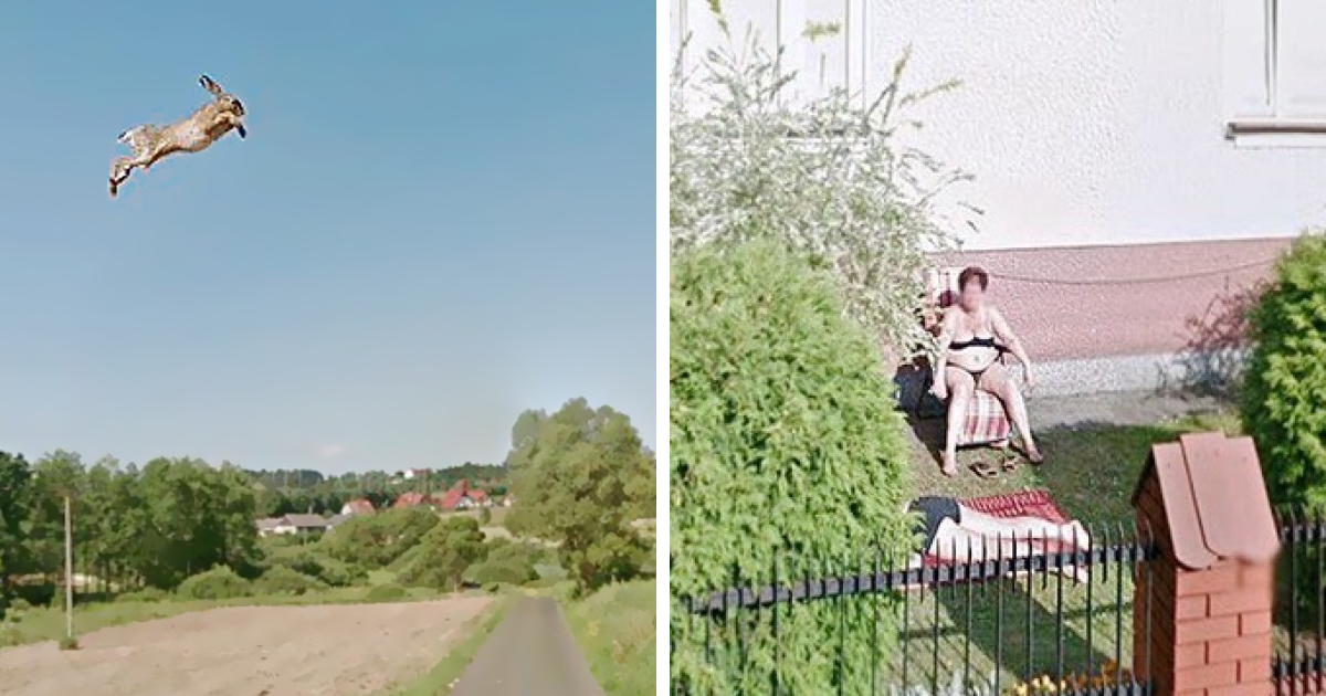 Artist Used Google Street View To Travel Poland During Quarantine And Here's What She Found In 30 Pics