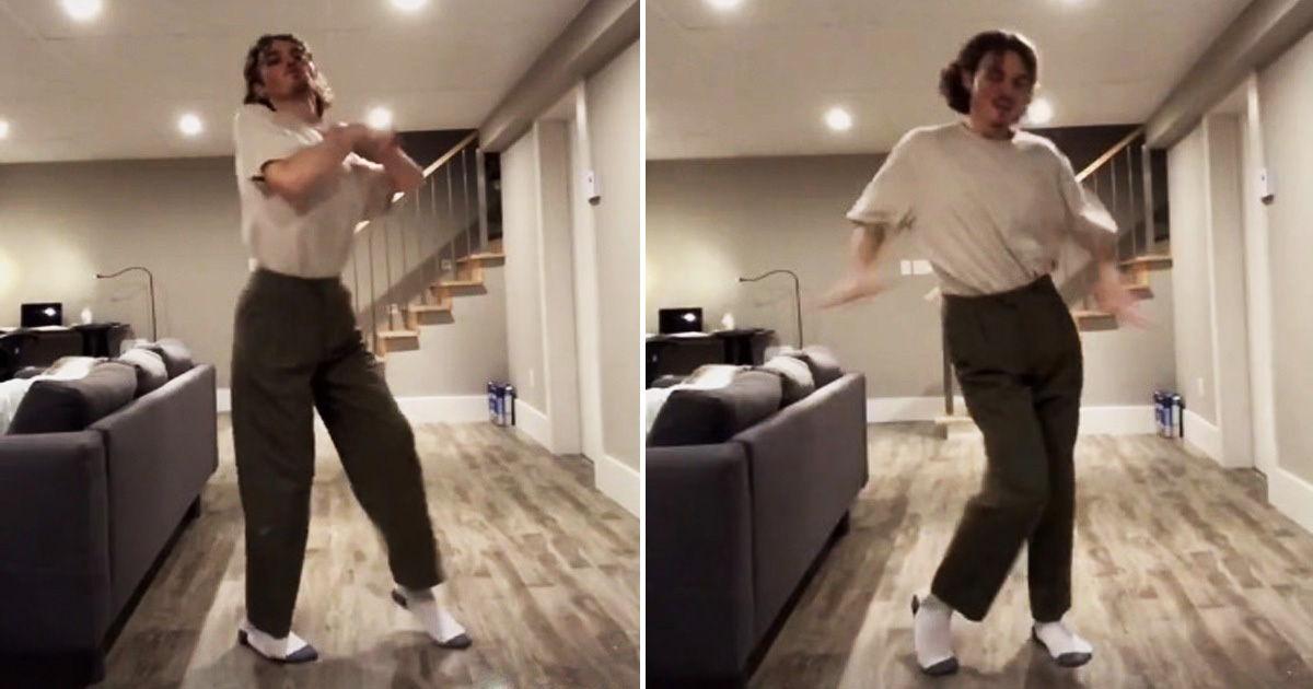 Man Left Stunned After Fans Spotted Horrifying Figure In Background Of His Tiktok Video