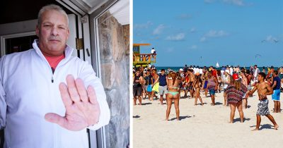 Dad Locks His Son Out Of House After He Parties With Friends In Texas During Spring Break