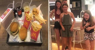 Genius Parents Trick Kids Into Believing They're Eating McDonald's With Lockdown Hack